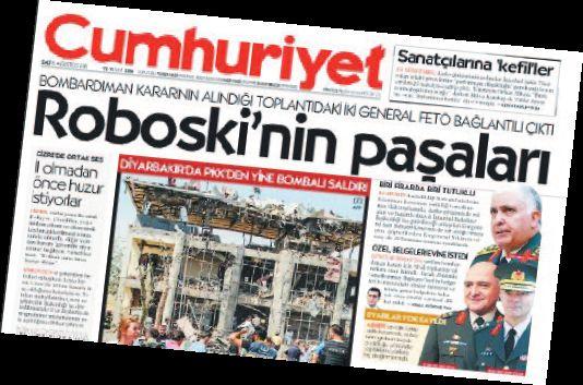 cumhuriyet manşet